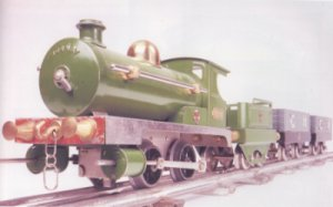 The first Hornby Train (early 1920)