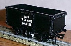 Rail Cleaning Wagon